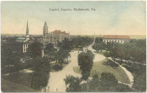 Postcard Panorama of Capitol Square
